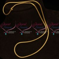 Gold Covering 3 MM Roll Thali Kodi Chain 24 Inches Length Daily Wear Shop Online