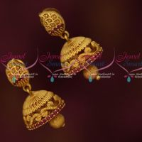 Small Size Artificial Jhumkas Latest Trendy Imitation Jewellery Designs Online