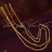 Rettai Vadam 2 Strand Traditional Gold Model Covering Chains Imitation Jewelry Online
