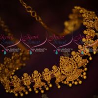 Latest Temple Jewellery Designs Kamar Patta Temple Vaddanam Models
