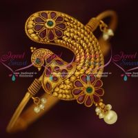 Bridal Jewellery Antique Matte String Vanki Adjustable Latest Designs Online