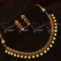 Antique Fashion Jewellery Beads Design Fancy Necklace Set Online