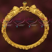 Bahubaali Jewellery Elephant Design Single Piece Kada Bangle Online