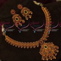 Mango Floral Design Gold Finish Fashion Jewellery Latest Designs Online