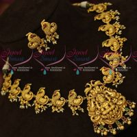 Temple Traditional Nagas Jewellery Gold Finish Antique Bridal Designs Online
