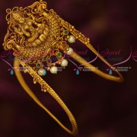 Temple Jewellery Antique Bridal Vanki Baju Band Traditional Designs Online