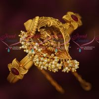Temple Lord Vinayagar Design String Vanki Latest Pearl Jewellery Online