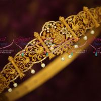 Bridal Oddiyanam Gold Plated Matte Finish Latest Jewellery Temple Designs Shop Online