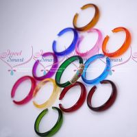 12 Colours Changeable Design AD Multi Colour Stones Plastic Kada Matching Jewellery Online