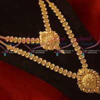 Daily Wear Combo Short Long Gold Plated Imitation Jewellery Value For Money