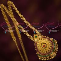 South Indian Daily Wear Chain Pendant Latest Gold Covering Imitation Online