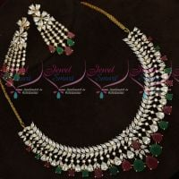Broad Multi Color CZ Stones Latest Fashion Jewellery Online