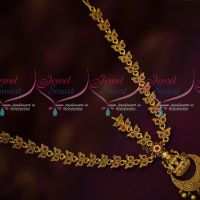 Antique Gold Plated Temple Jewellery Damini Bridal Hair Decoration Imitation