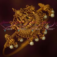 Antique Temple Bridal Jewellery String Vanki Latest Traditional Designs Onlinew