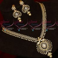 American Diamond Stones Flexible Stylish Jewellery Set Latest Imitation