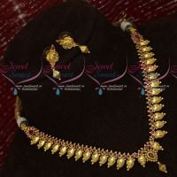Ruby Stones Antique Jewellery Set Delicate Light Weight Designs Online