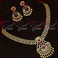 Latest Stylish Flexible AD Fashion Jewellery Necklace New Designs