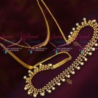 Delicate Thin Flexible Hip Chains Latest Fashion Jewellery AD Stones