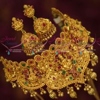 One Gram Gold Temple Jewellery Choker Bridal Premium Designs Shop Online