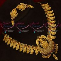 Temple Jewellery One Gram Gold Exclusive Real Look Necklace Set