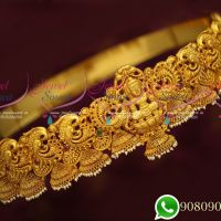 Temple Jewellery Bridal Oddiyanam Vaddanam Latest Traditional South Indian Hip Chains