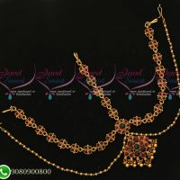 Bridal Jewellery Kemp Damini Matha Patty Hair Traditional Accessory Online