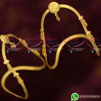 Low Price Girs Vanki Jewellery Bajuband South Indian Party Wear Designs