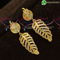 Earrings American Diamond Dazzling Stones Jewellery