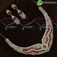American Diamond Jewellery Sets Designs Latest Collections Online
