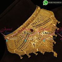 Choker Necklace Gold Plated Bridal Jewellery Online