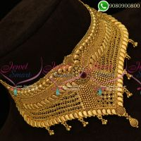 Choker Necklace One Gram Gold Bridal Jewellery Online