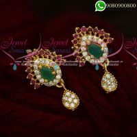 Trendy Earrings Design Gold Inspired Jewellery Online