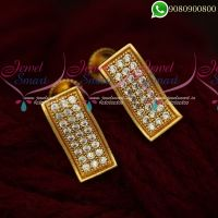 Studs Earrings For Women Gold Design Low Prices Online