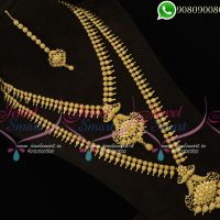 South Indian Bridal Jewellery Gold Plated Traditional