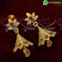 Jhumkas Online Stylish Design Imiation Jewelry