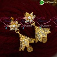 Jhumkas Online Gold Design Imiation Jewelry