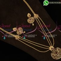 Long Necklace Gold Plated Imitation Jewellery
