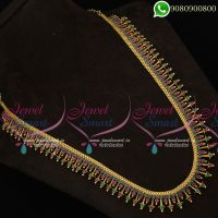 Long Necklace For Wedding Traditional Designs Online