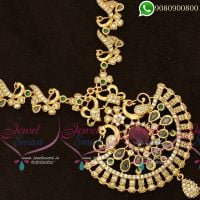 One Gram Gold Jewellery American Diamond Stones