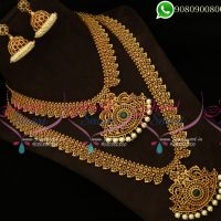 South Indian Bridal Jewellery Original Kemp Stones
