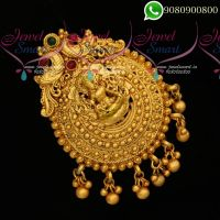 South Indian Temple Jewellery Designs Antique Jadabilla Rakodi