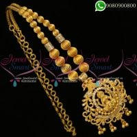 Traditional Design Beaded Jewellery Gold Plated
