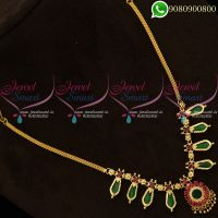 South Indian Imitation Jewellery Necklace Sets Shop Online