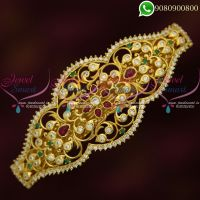 Real Kemp American Diamond Jewelry Hair Clips Gold Plated