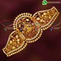 Temple Jewellery Hair Clips South Indian Matte Look Designs