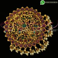 Antique Gold Plated Rakodi Bridal Wedding Jewellery Designs