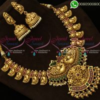 Antique Nagas Jewellery Peacock Handmade South Indian Designs