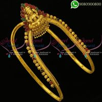 Wedding Jewellery Temple Lakshmi Vanki Bridal Imitation Designs