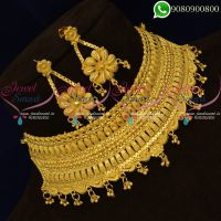 Forming Gold Wedding Bridal Jewellery Choker Necklace One Gram Online