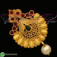 Jadabilla Hair Chotis Matte Gold Plated Jewellery Accessory Online